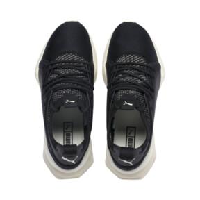 Thumbnail 7 of Muse Maia Knit Premium Women's Shoes, Puma Black-Whisper White, medium