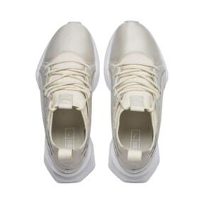 Thumbnail 7 of Muse Maia Knit Premium Women's Trainers, Whisper White-Puma White, medium