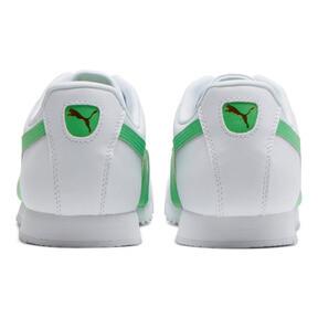 Thumbnail 3 of Roma Basic + Sneakers, Puma White-Irish Green, medium