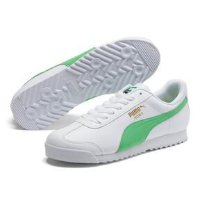 Thumbnail 2 of Roma Basic + Sneakers, Puma White-Irish Green, medium