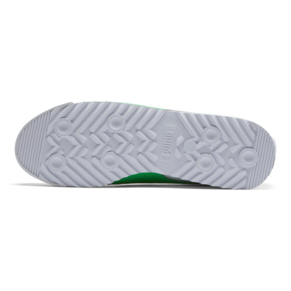 Roma Basic + Sneakers, Puma White-Irish Green, large