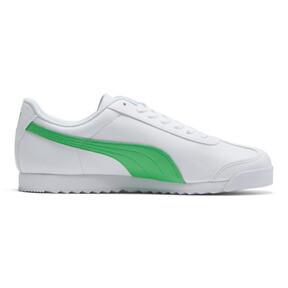 Thumbnail 5 of Roma Basic + Sneakers, Puma White-Irish Green, medium