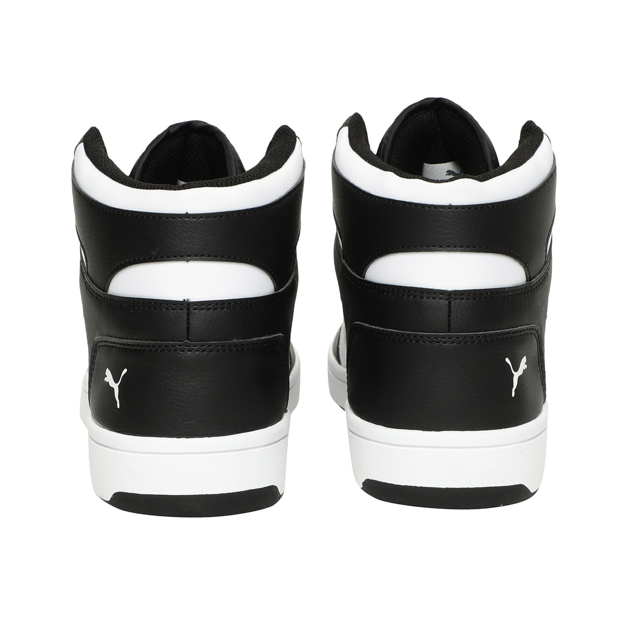 PUMA-PUMA-Rebound-LayUp-Men-039-s-Sneakers-Men-Mid-Boot-Basics thumbnail 3