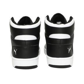 Thumbnail 3 of PUMA Rebound LayUp Sneakers, Puma Black-Puma White, medium
