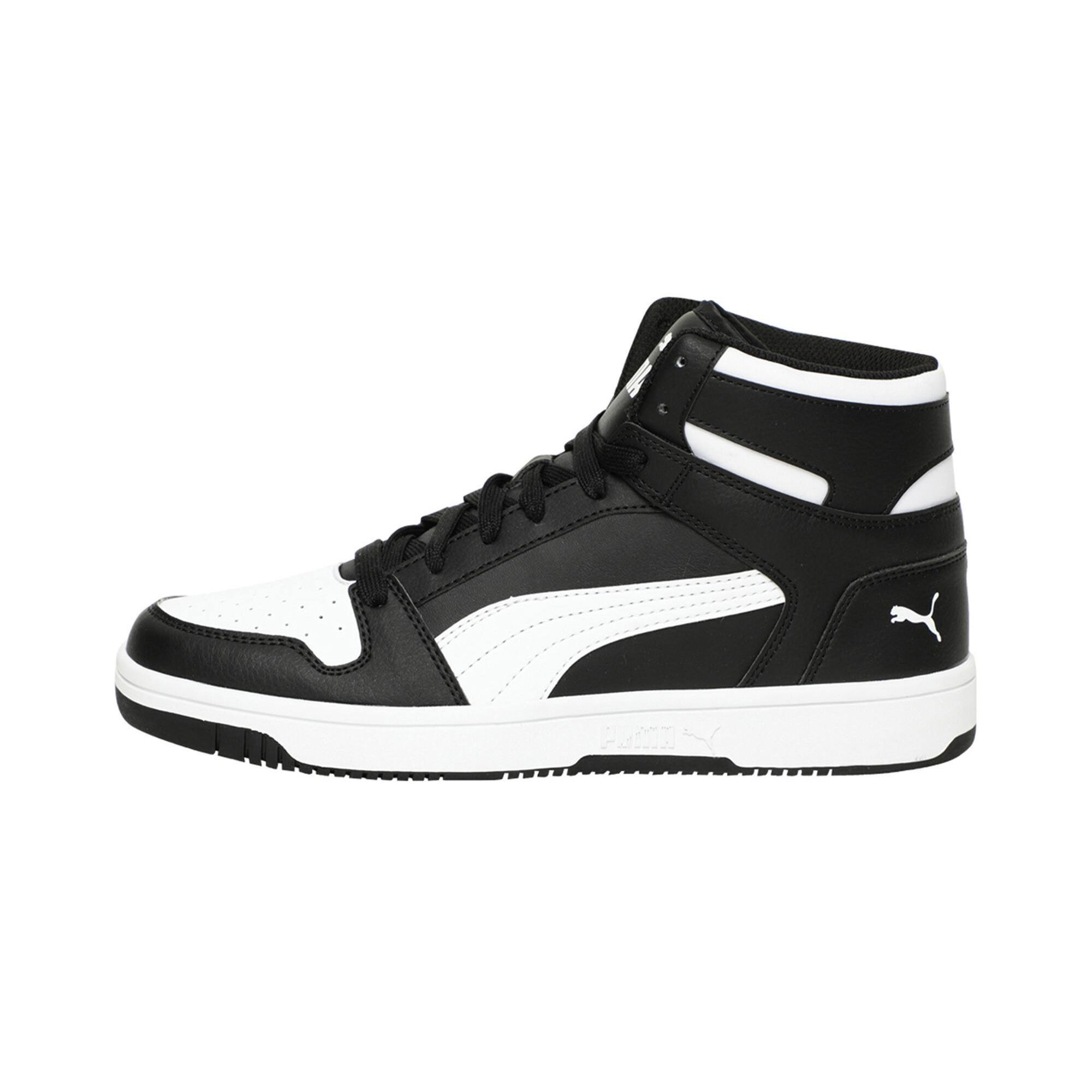 PUMA-PUMA-Rebound-LayUp-Men-039-s-Sneakers-Men-Mid-Boot-Basics thumbnail 4