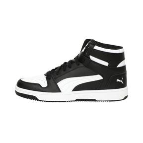 Thumbnail 1 of PUMA Rebound LayUp Sneakers, Puma Black-Puma White, medium