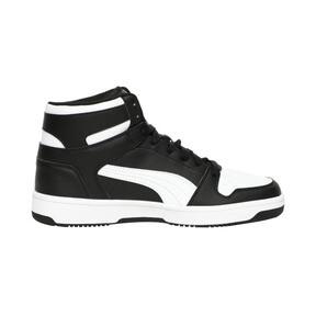 Thumbnail 5 of PUMA Rebound LayUp Sneakers, Puma Black-Puma White, medium