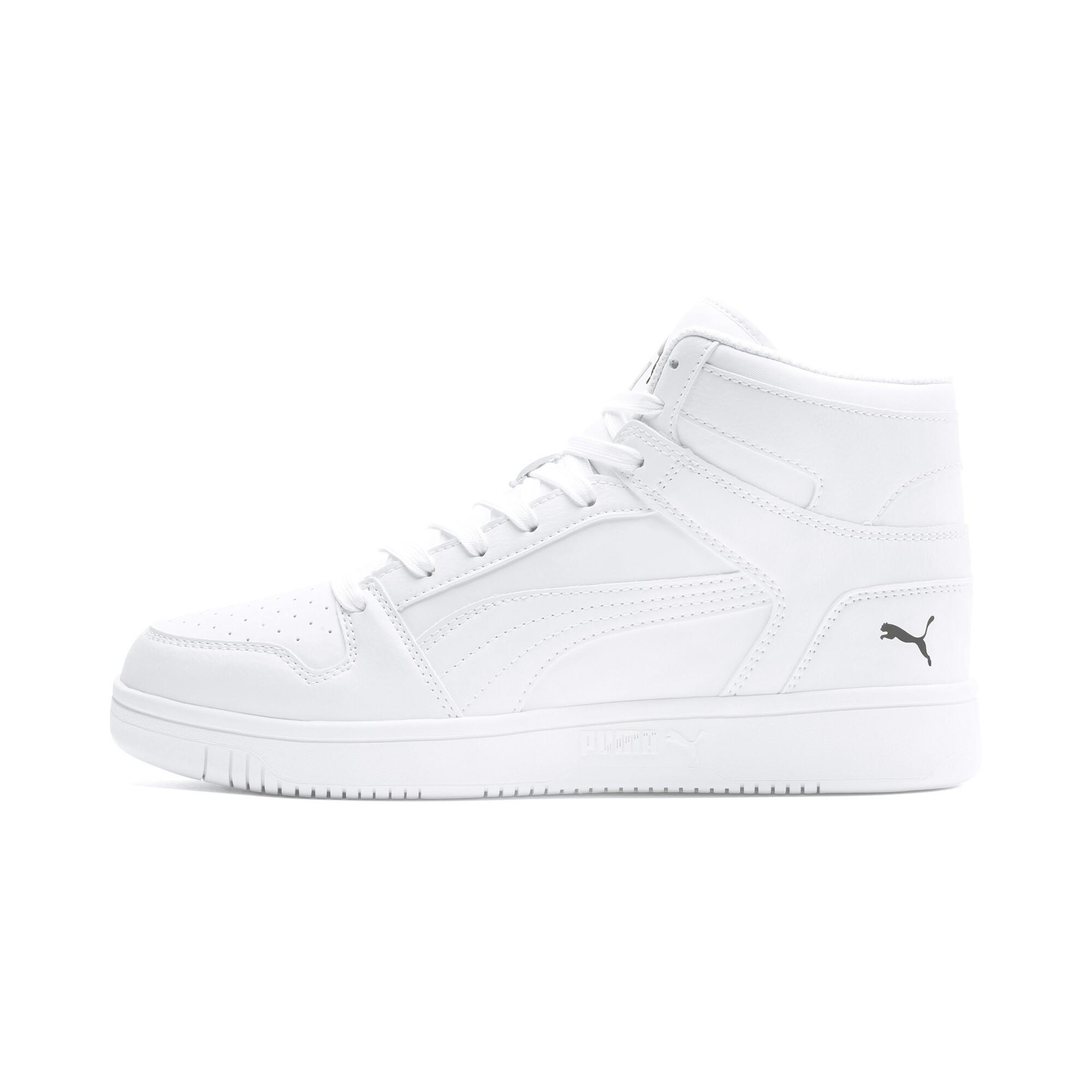 PUMA-PUMA-Rebound-LayUp-Men-039-s-Sneakers-Men-Mid-Boot-Basics thumbnail 17