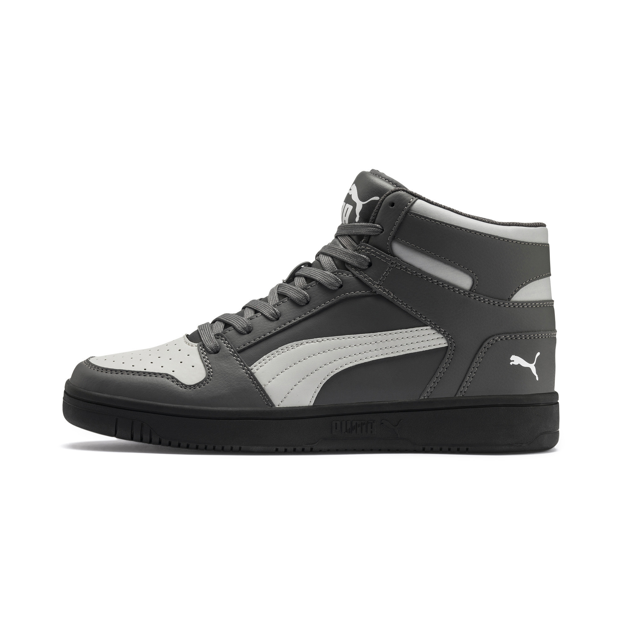PUMA-PUMA-Rebound-LayUp-Men-039-s-Sneakers-Men-Mid-Boot-Basics thumbnail 10