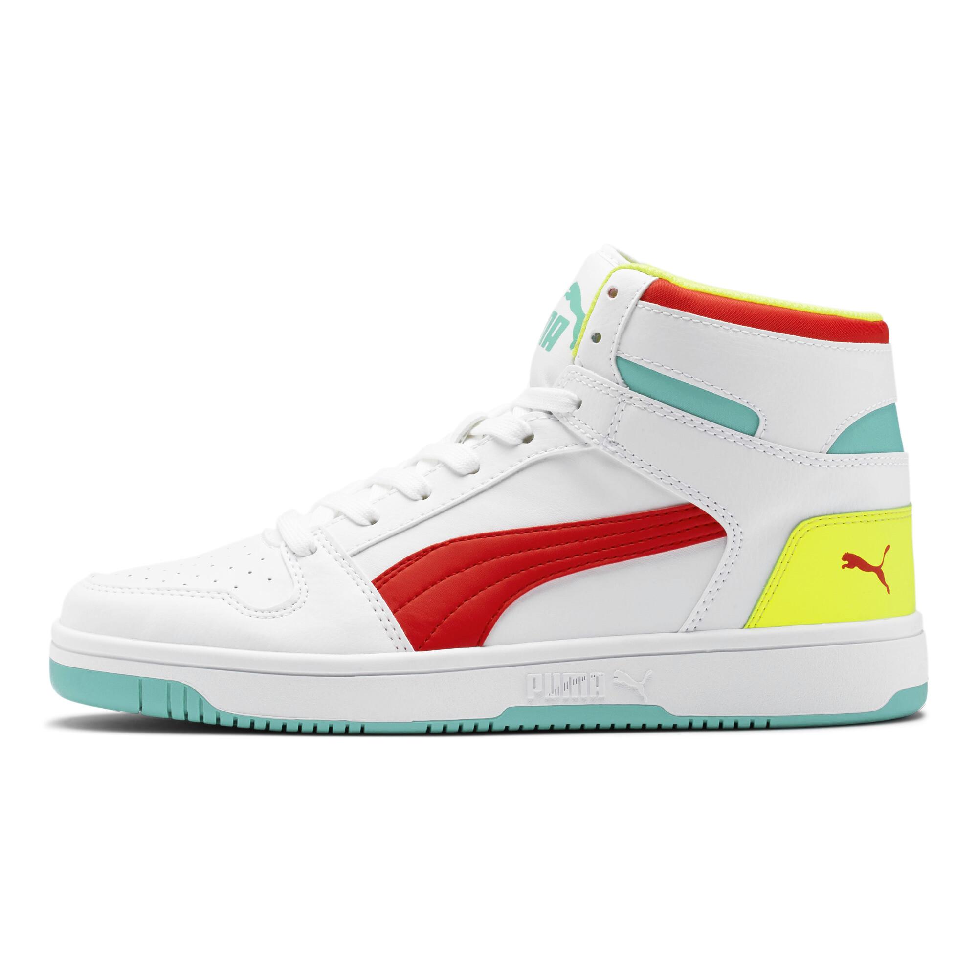 PUMA-PUMA-Rebound-LayUp-Men-039-s-Sneakers-Men-Mid-Boot-Basics thumbnail 22