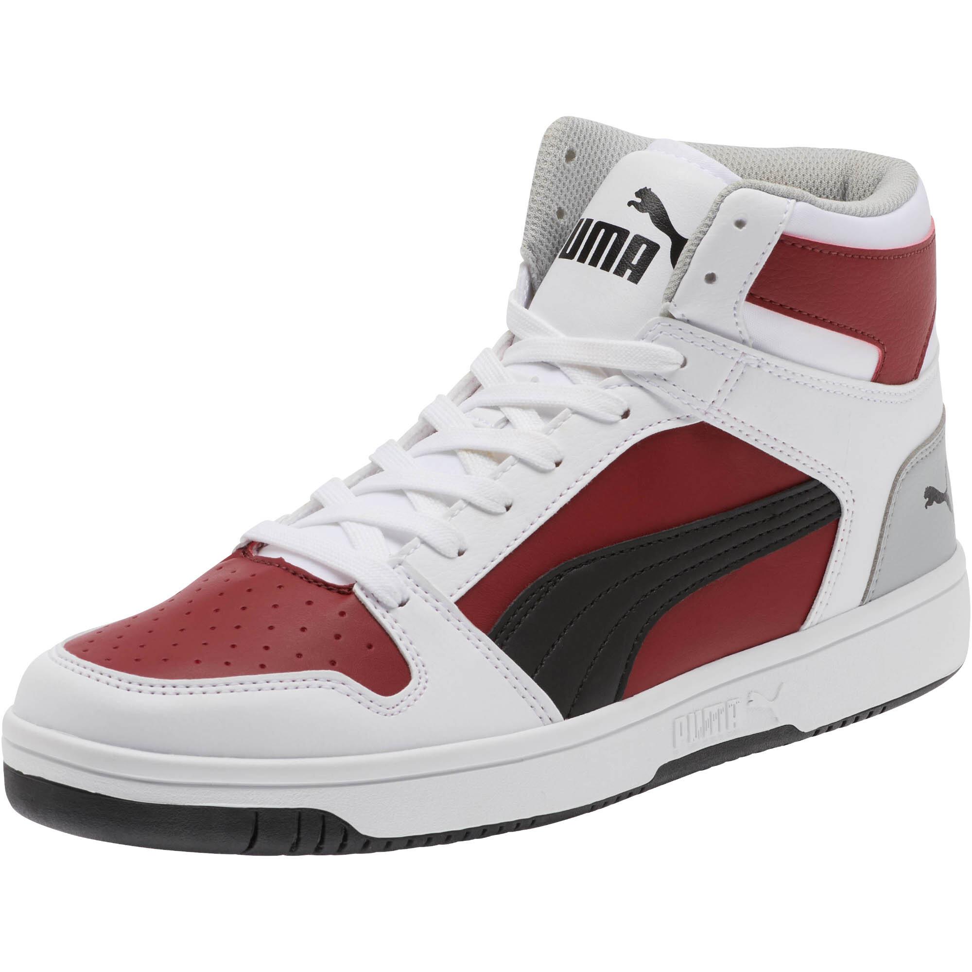 PUMA-PUMA-Rebound-LayUp-Men-039-s-Sneakers-Men-Mid-Boot-Basics thumbnail 7