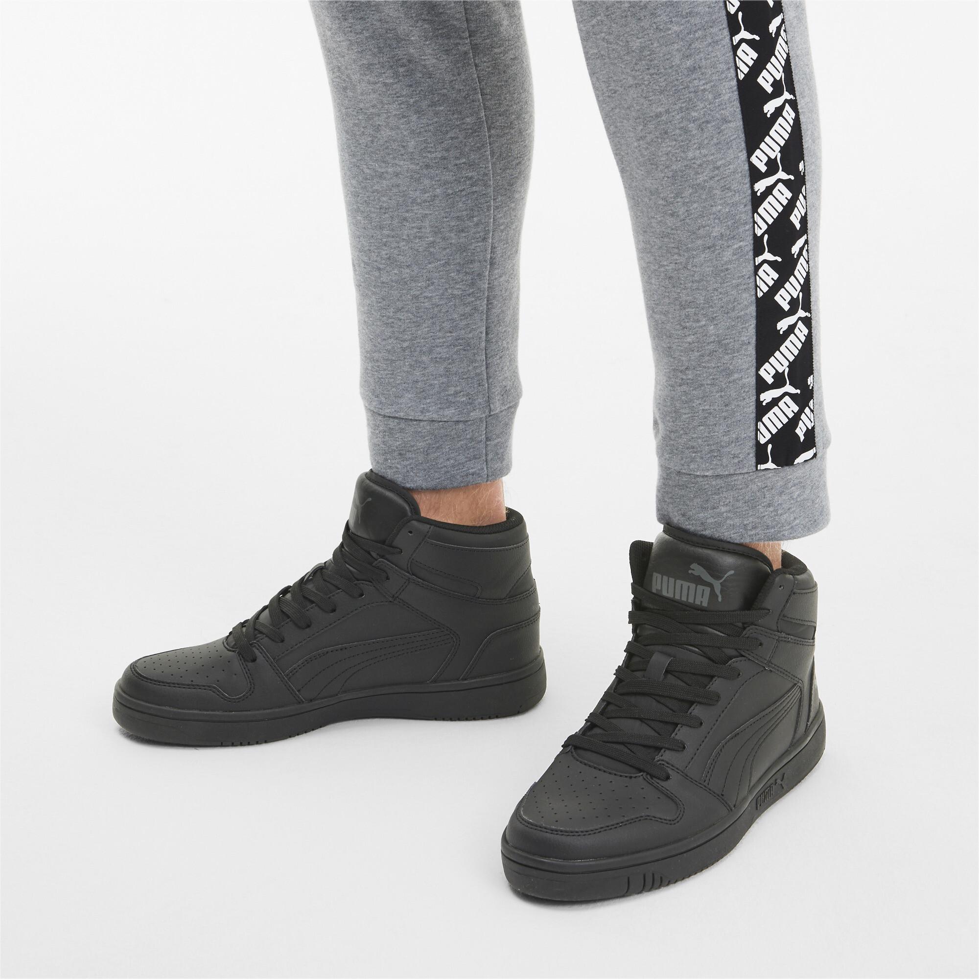 PUMA-PUMA-Rebound-LayUp-Men-039-s-Sneakers-Men-Mid-Boot-Basics thumbnail 24
