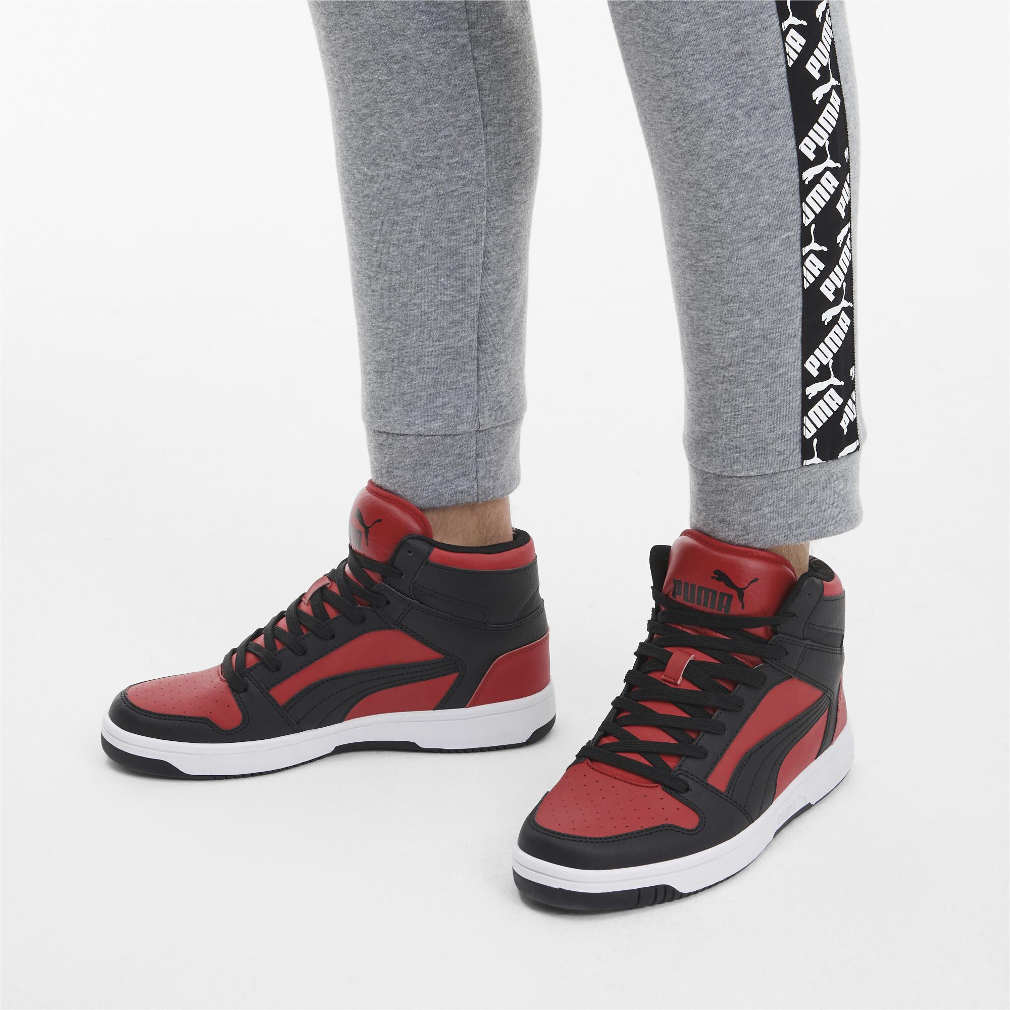 PUMA-PUMA-Rebound-LayUp-Men-039-s-Sneakers-Men-Mid-Boot-Basics thumbnail 23