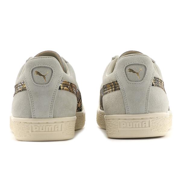 Suede MIJ Sneakers, Glacier Gray-Puma Black, large
