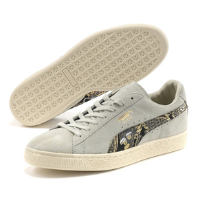 Thumbnail 2 of Suede MIJ Sneakers, Glacier Gray-Puma Black, medium