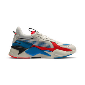 Thumbnail 5 of RS-X Reinvention Trainers, Whisper White-Red Blast, medium