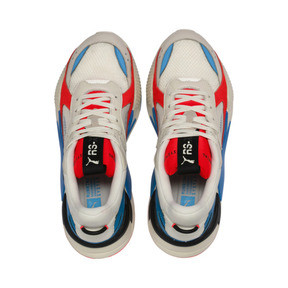 Thumbnail 6 of RS-X Reinvention Trainers, Whisper White-Red Blast, medium