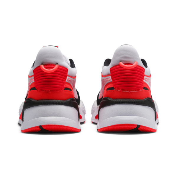 RS-X Reinvention Men's Sneakers, Puma White-Red Blast, large