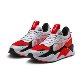 Thumbnail 2 of RS-X Reinvention Men's Sneakers, Puma White-Red Blast, medium