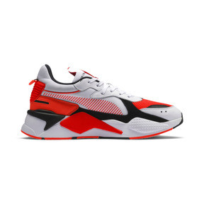 Thumbnail 5 of RS-X Reinvention Men's Sneakers, Puma White-Red Blast, medium