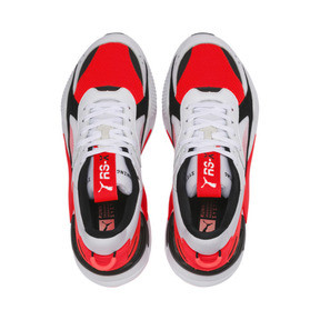 Thumbnail 6 of RS-X Reinvention Men's Sneakers, Puma White-Red Blast, medium