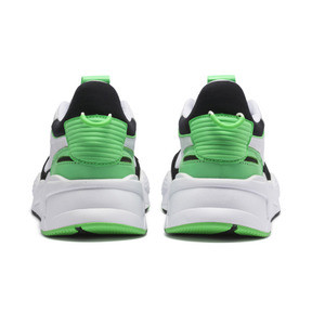 Thumbnail 4 of RS-X Reinvention Trainers, Puma White-Irish Green, medium
