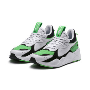 Thumbnail 3 of RS-X Reinvention Men's Sneakers, Puma White-Irish Green, medium