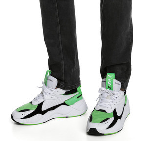 Imagen en miniatura 2 de Zapatillas RS-X Reinvention, Puma White-Irish Green, mediana