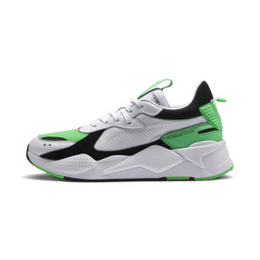 Thumbnail 1 of RS-X Reinvention Men's Sneakers, Puma White-Irish Green, medium