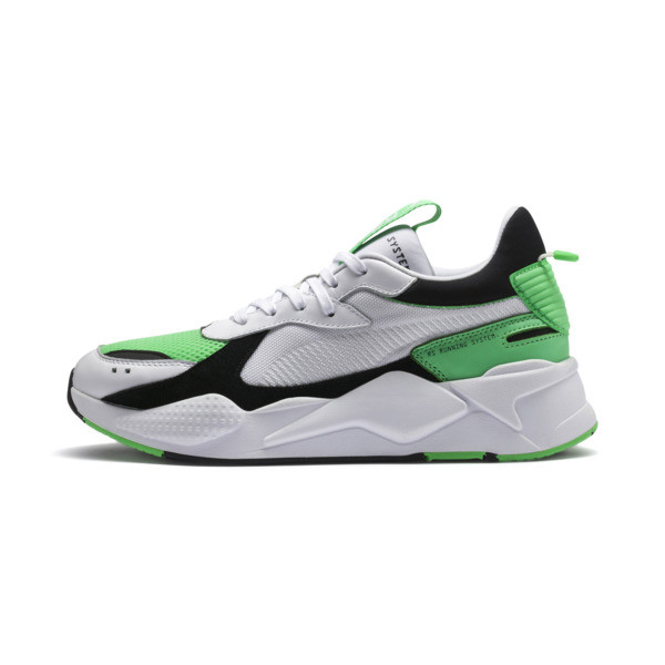 the best attitude b76e4 bf100 RS-X Reinvention Men s Sneakers, Puma White-Irish Green, large