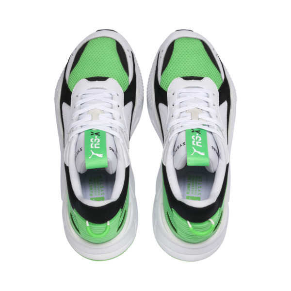 RS-X Reinvention Trainers, Puma White-Irish Green, large