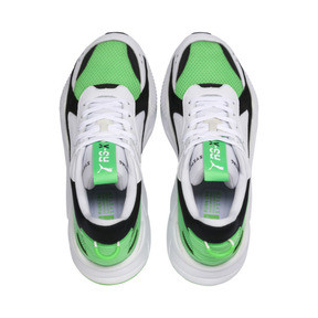 Thumbnail 7 of RS-X Reinvention Men's Sneakers, Puma White-Irish Green, medium