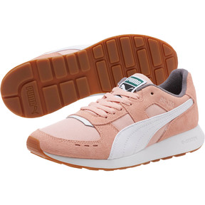 Thumbnail 2 of RS-150 Nylon Women's Sneakers, Coral Cloud-Puma White, medium