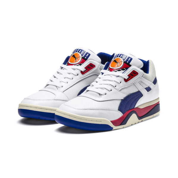 Palace Guard OG Trainers, Puma White-Surf The Web-Red, large