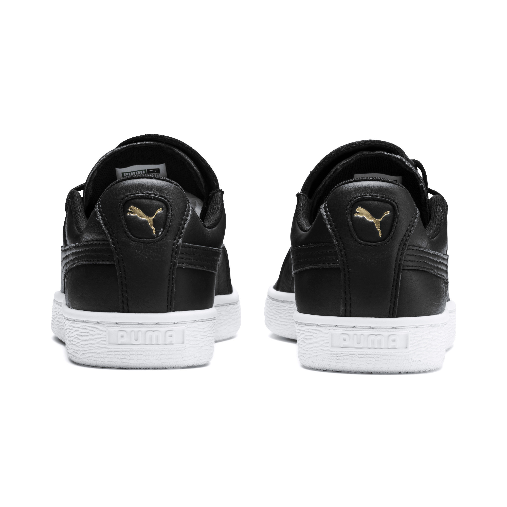 PUMA-Women-039-s-Basket-Crush-Emboss-Heart-Sneakers thumbnail 3