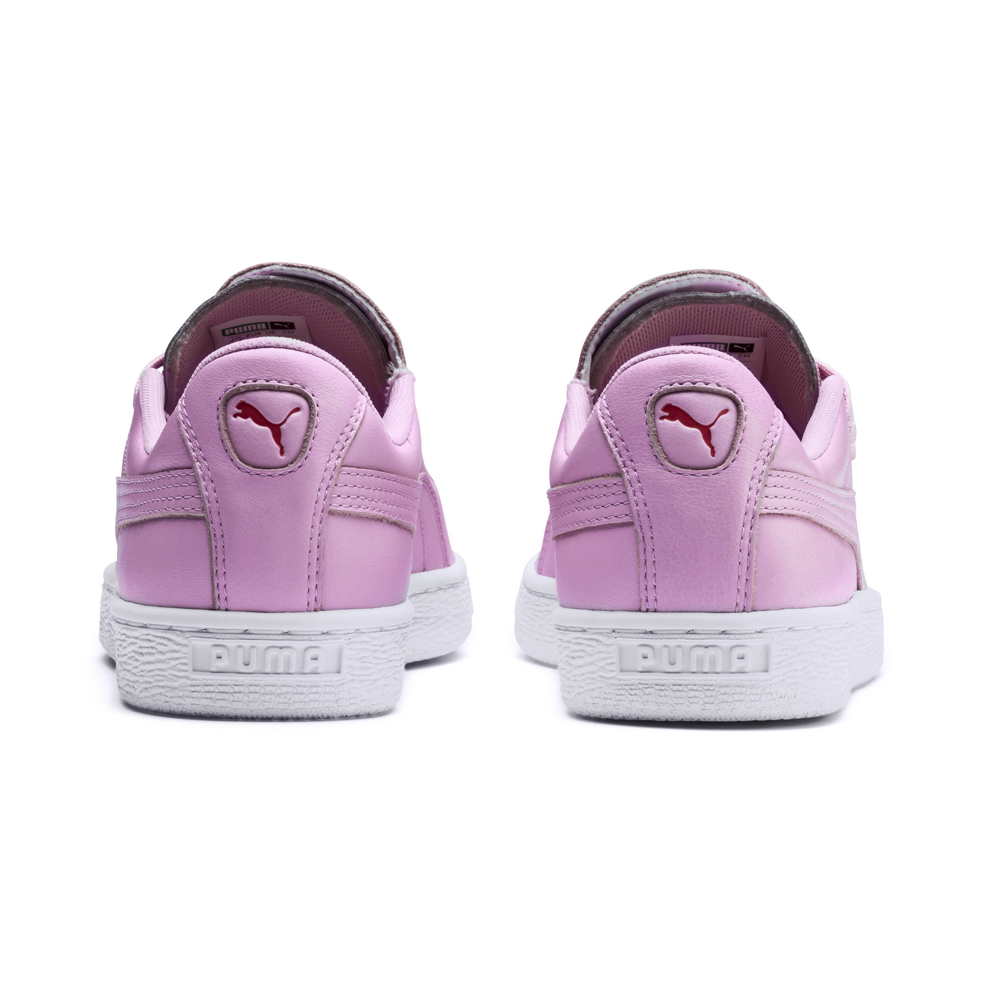 PUMA-Women-039-s-Basket-Crush-Emboss-Heart-Sneakers thumbnail 9