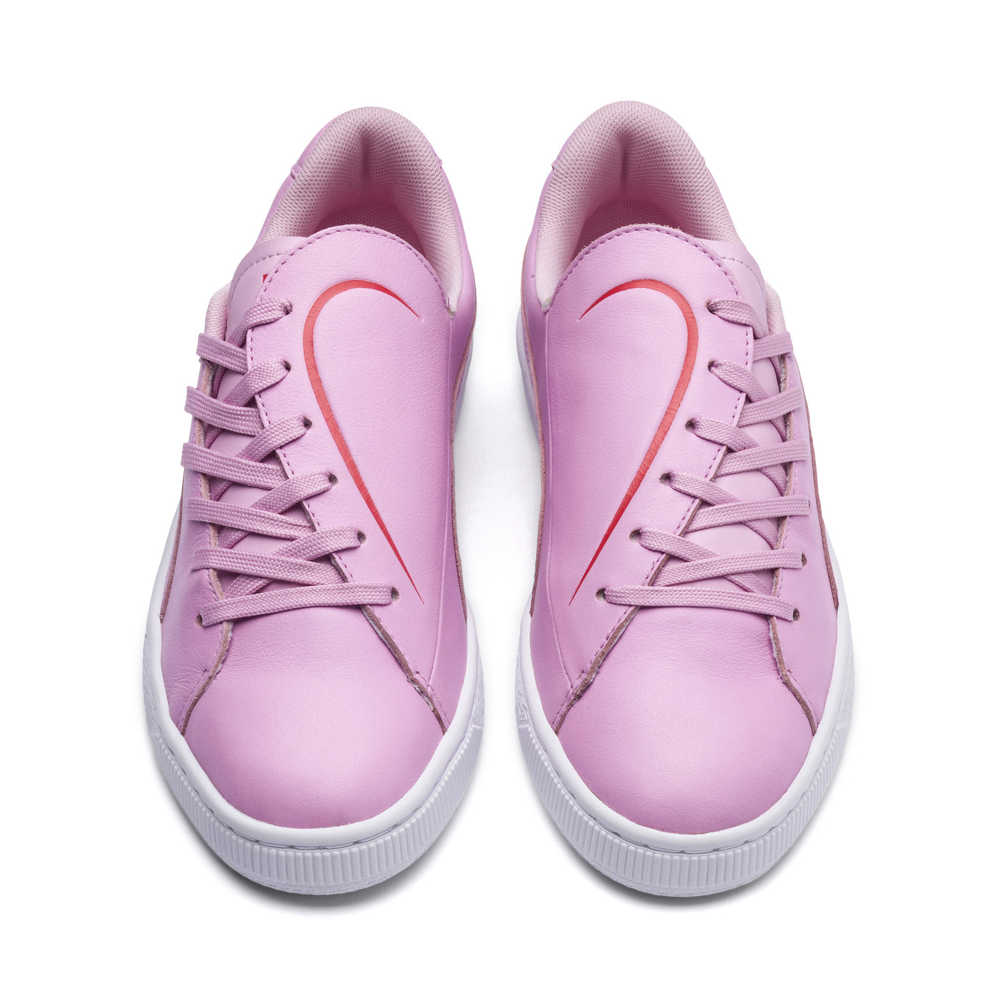 PUMA-Women-039-s-Basket-Crush-Emboss-Heart-Sneakers thumbnail 14