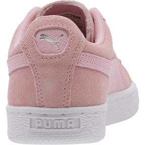 Thumbnail 4 of Suede Galaxy Women's Sneakers, Pale Pink-Puma Silver, medium