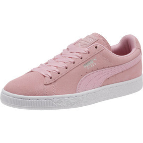 Thumbnail 1 of Suede Galaxy Women's Sneakers, Pale Pink-Puma Silver, medium