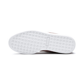 Thumbnail 3 of Suede Shimmer Women's Sneakers, Bridal Rose-Puma White, medium