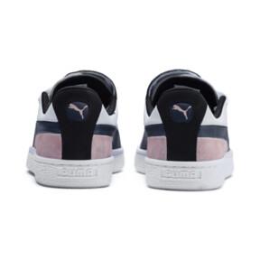 Thumbnail 4 of Basket Crush Paris Women's Sneakers, Dress Blues-Puma White, medium