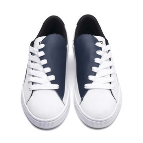 Thumbnail 2 of Basket Crush Paris Women's Sneakers, Dress Blues-Puma White, medium