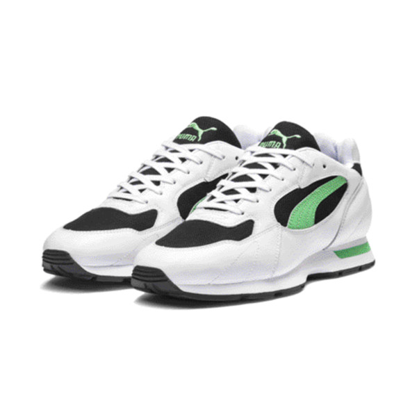 Proclaim Men's Sneakers, Puma White-Irish Green, large
