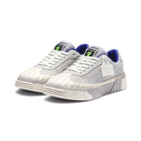 Thumbnail 5 of PUMA x SANKUANZ Cali Women's Trainers, Gray Violet-Whisper White, medium