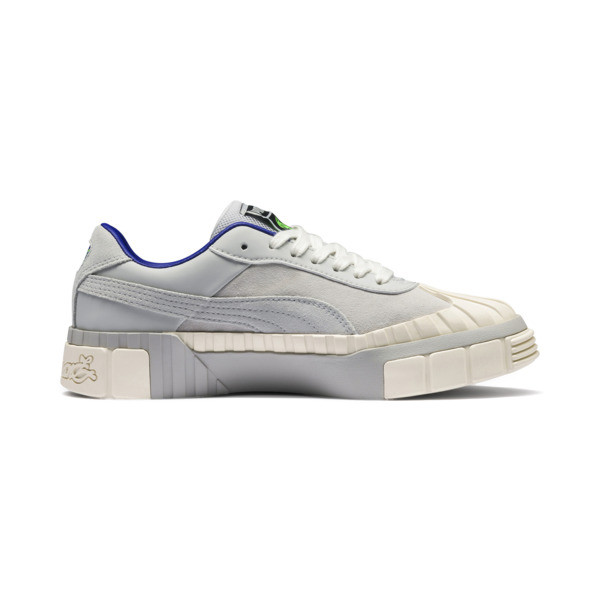 PUMA x SANKUANZ Cali Women's Trainers, Gray Violet-Whisper White, large