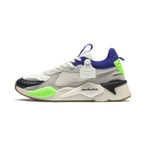 Thumbnail 1 of PUMA x SANKUANZ RS-X Trainers, Cloud Cream-Royal Blue, medium