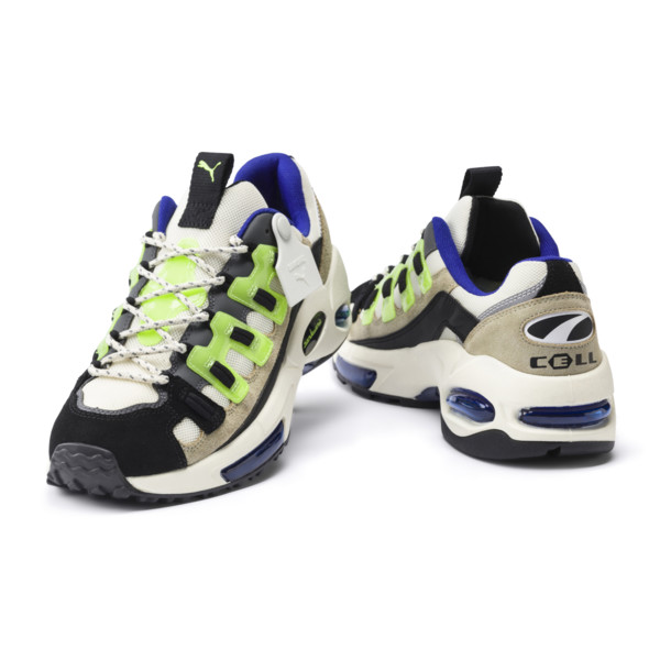 PUMA x SANKUANZ Cell Endura Trainers, Cloud Cream-GreenGecko-Black, large