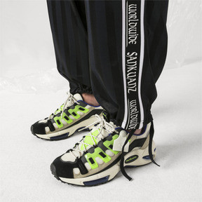 Thumbnail 2 of PUMA x SANKUANZ Cell Endura Trainers, Cloud Cream-GreenGecko-Black, medium