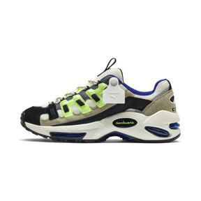 Thumbnail 1 of PUMA x SANKUANZ Cell Endura Trainers, Cloud Cream-GreenGecko-Black, medium