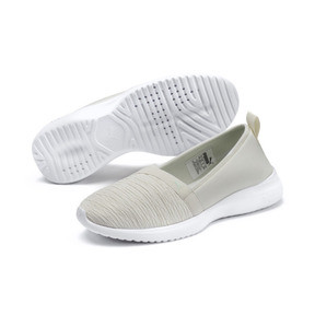 Thumbnail 2 of Adelina Women's Ballet Shoes, Vaporous Gray-Fair Aqua, medium